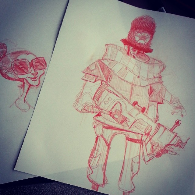 And some red pencil