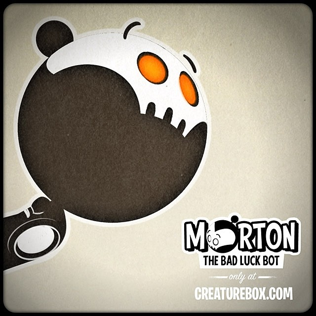 Morton to the Rescue! Check out our little bot's latest brush with disaster. http://creaturebox.com/comic/rescue/