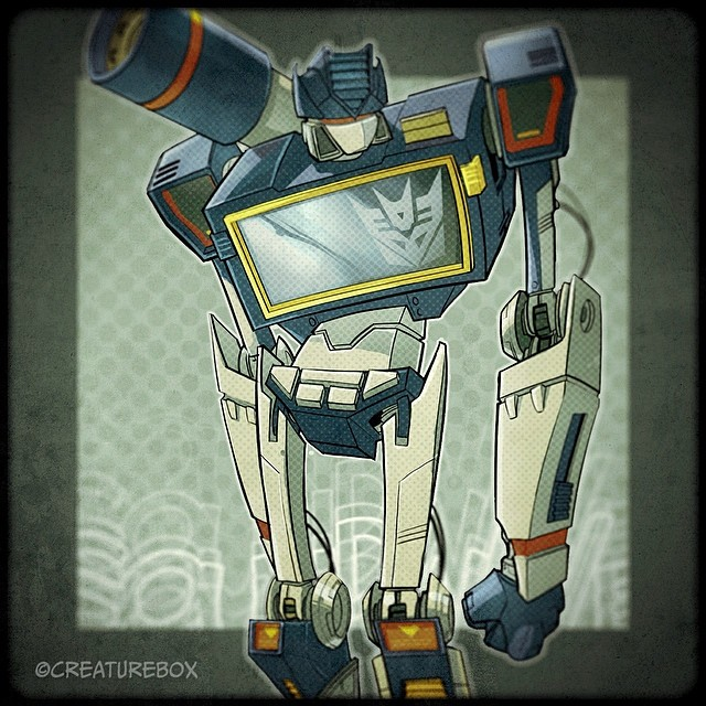 Way-Back-Wednesday when Soundwave dropped the beat! #transformers #soundwave