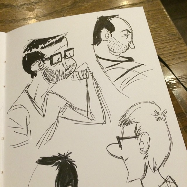 Character Design Sketchbook : Goin to the picture show movies arclight doodle sketch