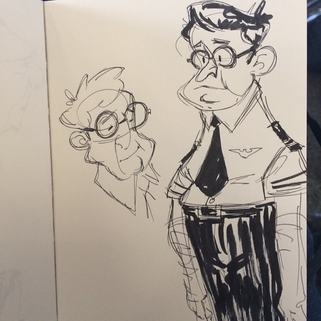 I really hope this is my pilot #pilot #airport #sketch #doodle