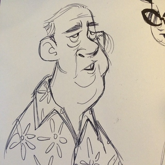 From lunch the other day. #sketch #doodle #moleskin #characterdesign