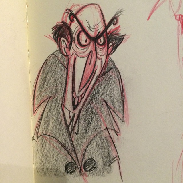 Another #countolaf #aseriesofinfortunateevents #sketch #doodle #characterdesign