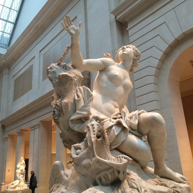 From the MET. Holy crap that place is amazing #statue #ny #metropolitan #met