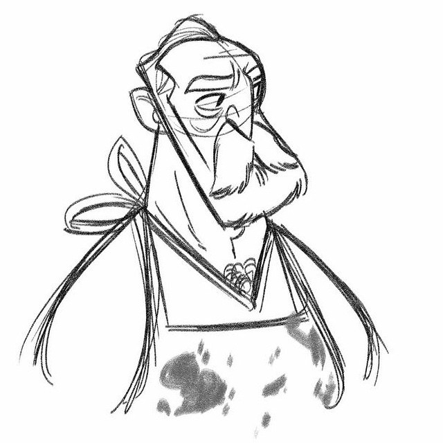 Warm up from this morning #butcher #sketch #doodle #characterdesign #warmup