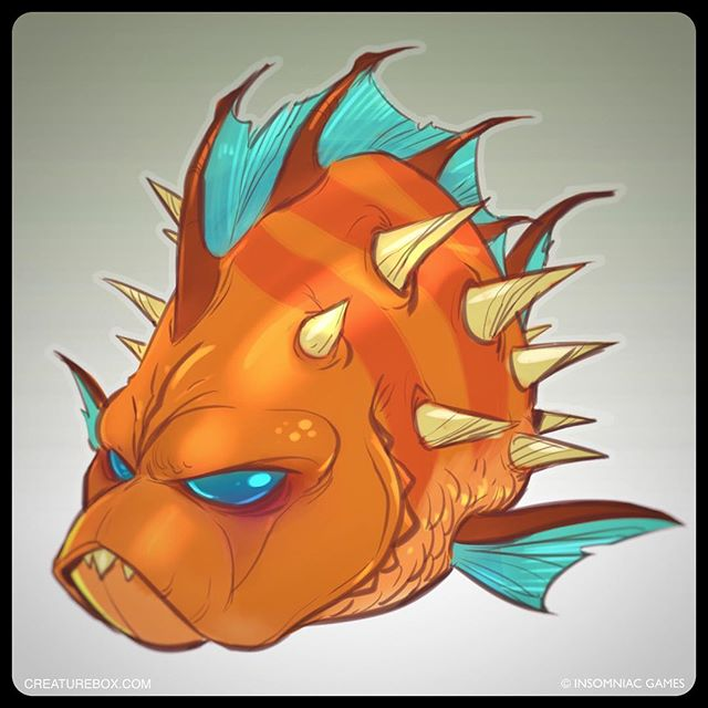 Taking that long overdue vacation to Pokitaru sounded great until the dang puffer fish showed up! #ratchetandclank #ps4 #smellslikefish