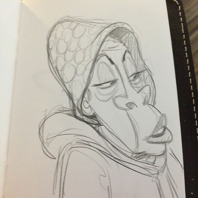 From a while back #sketch #doodle #characterdesign #sketchwallet